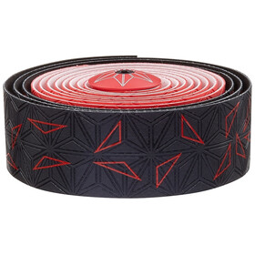 Supacaz Super Sticky Kush Handelbar Tape red/black